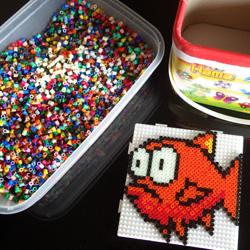 Du Pixel Art En Perles à Repasser