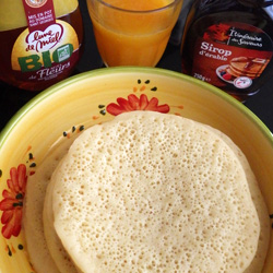 recette crepes kabyles