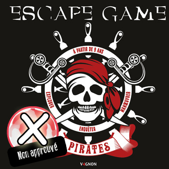 avis livre escape game pirates