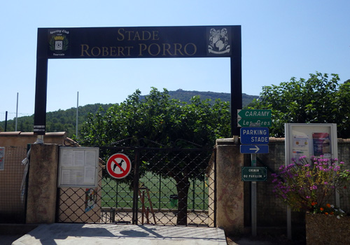 stade robert porro tourves