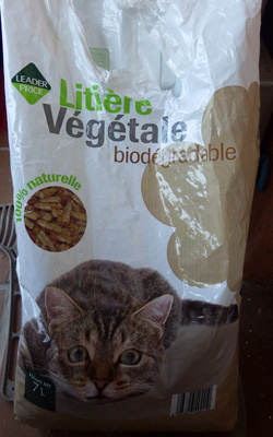 litiere biodegradable pas c