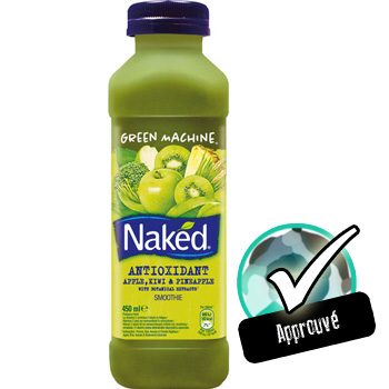 smoothie green machine naked