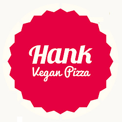 hank pizza vegan