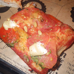 pizza vegan tomates